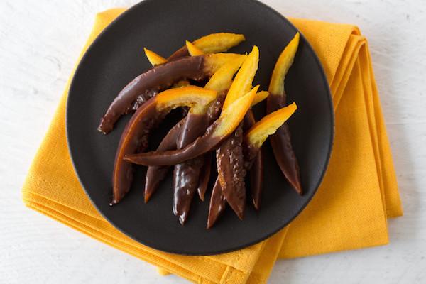 Oranges confites chocolat
