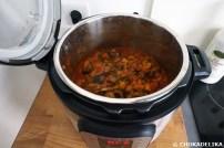 Une délicieuse ratatouille cuite à basse température pendant 4h.