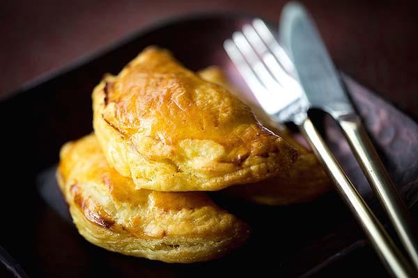 Feuilleté au coing et au foie gras