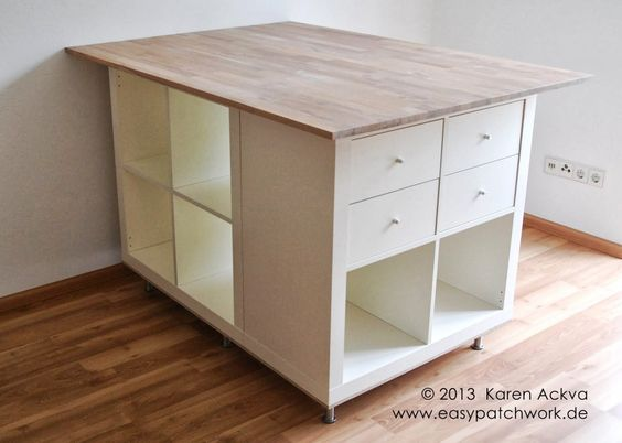 Hervorragend DIY : Un îlot central (Ikea hack) – CHOKADELIKA FZ58