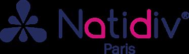 Logo NATIDIV complet - vectorisé fuchia